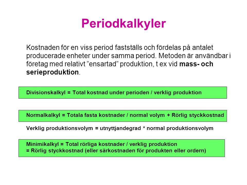 Periodkalkyler