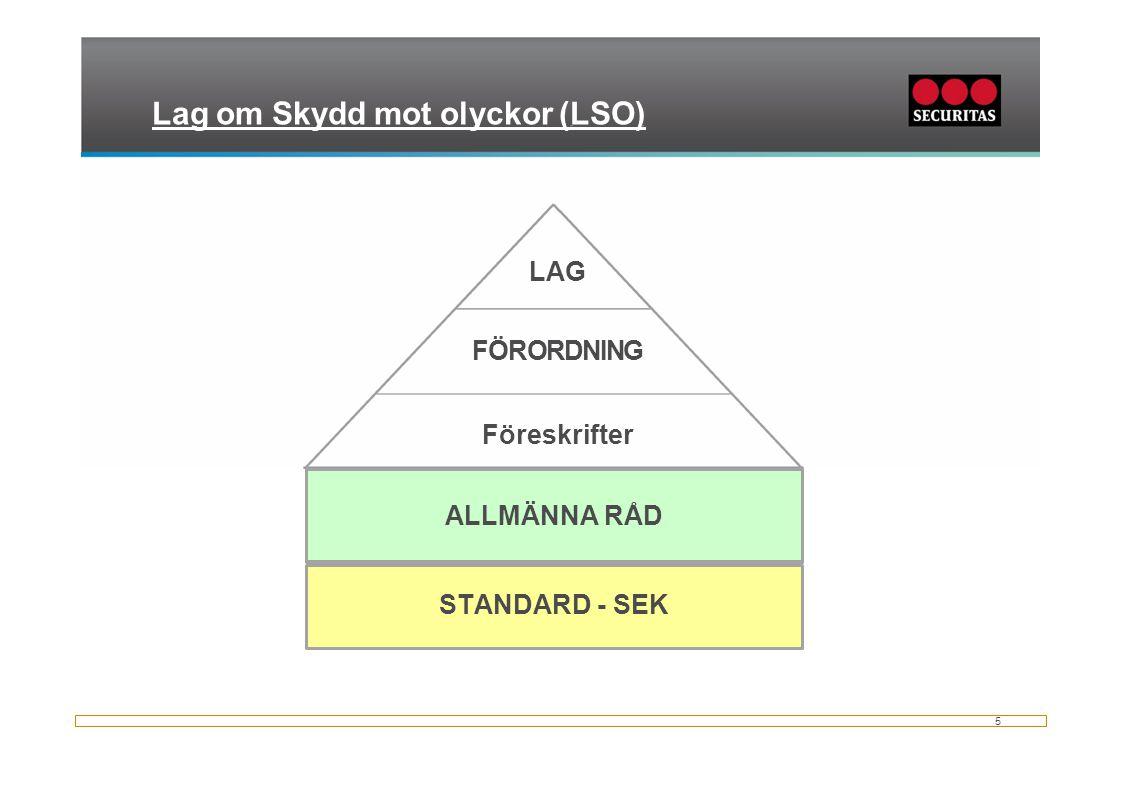 Lag om Skydd mot olyckor (LSO)