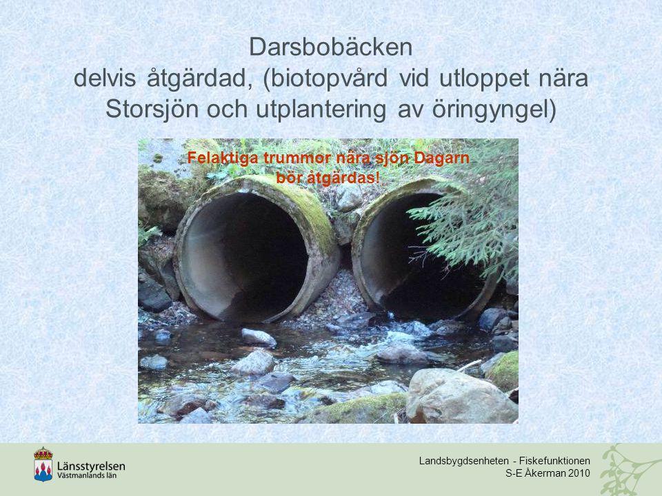 Felaktiga trummor nära sjön Dagarn bör åtgärdas!
