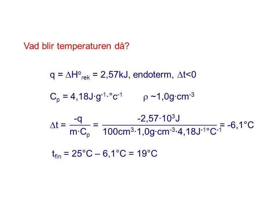 Cp = 4,18J·g-1·°c-1  ~1,0g·cm-3
