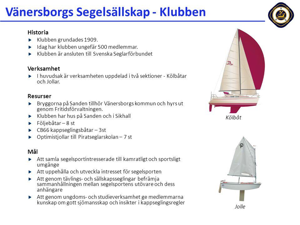 Vänersborgs Segelsällskap - Klubben