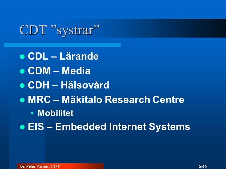 CDT systrar CDL – Lärande CDM – Media CDH – Hälsovård