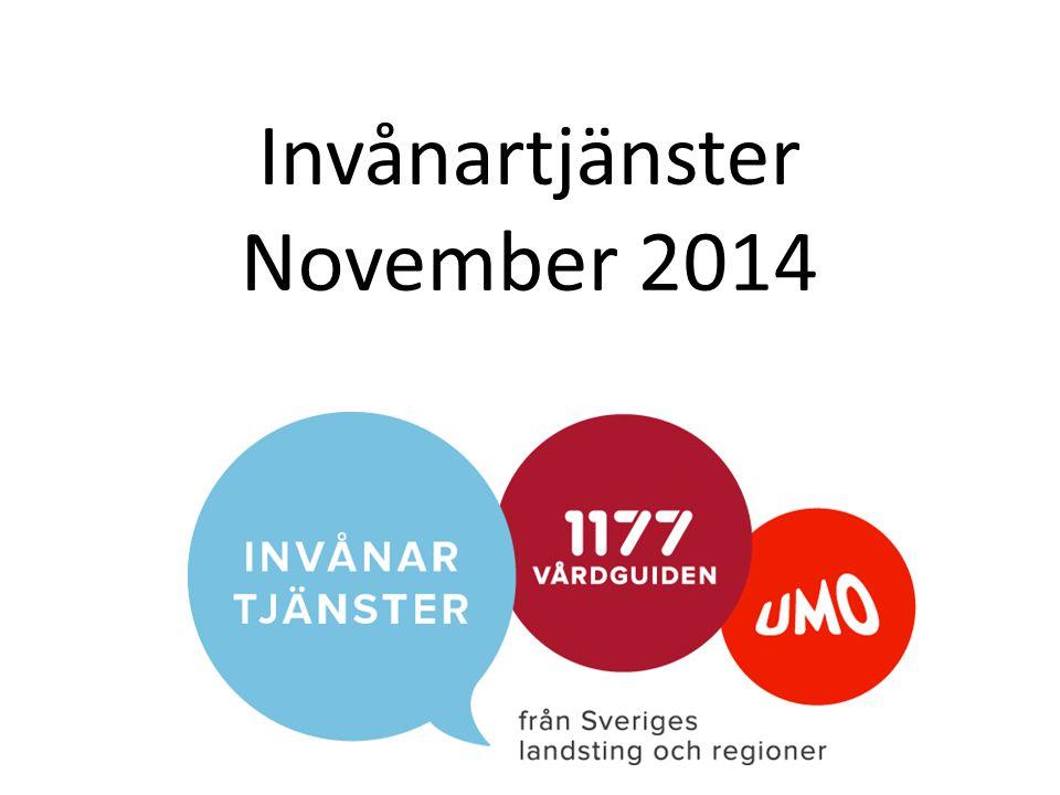 Invånartjänster November 2014