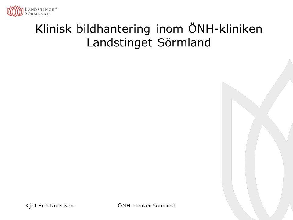 Klinisk bildhantering inom ÖNH-kliniken Landstinget Sörmland