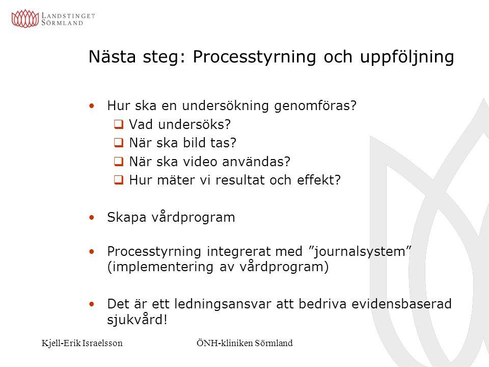 Nästa steg: Processtyrning och uppföljning