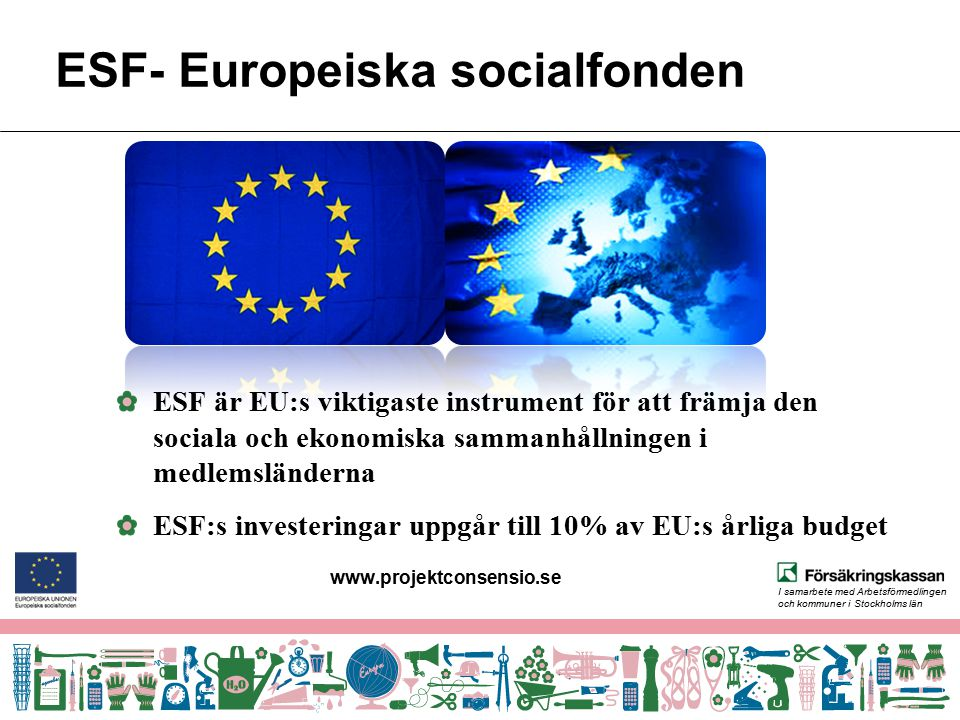 ESF- Europeiska socialfonden