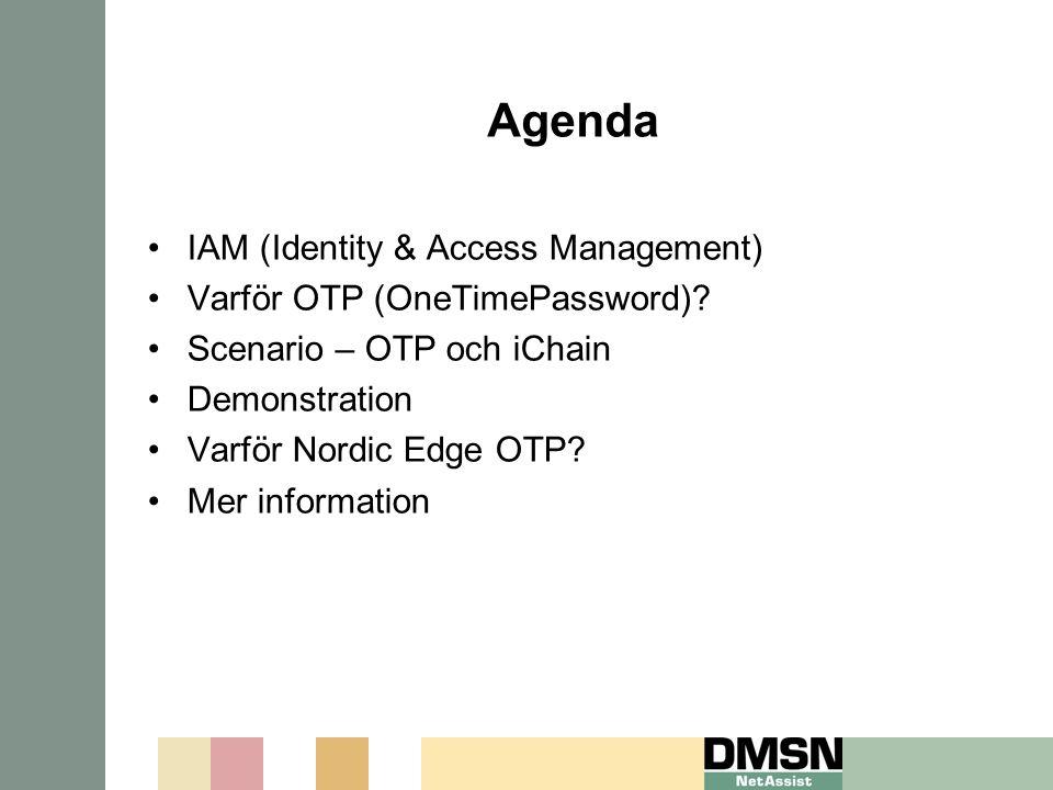 Agenda IAM (Identity & Access Management)