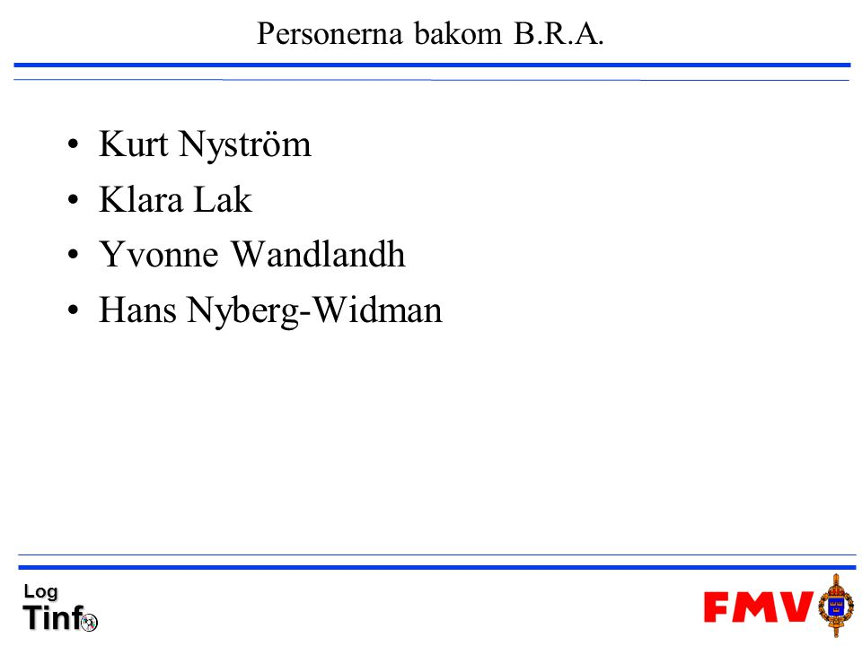 Kurt Nyström Klara Lak Yvonne Wandlandh Hans Nyberg-Widman