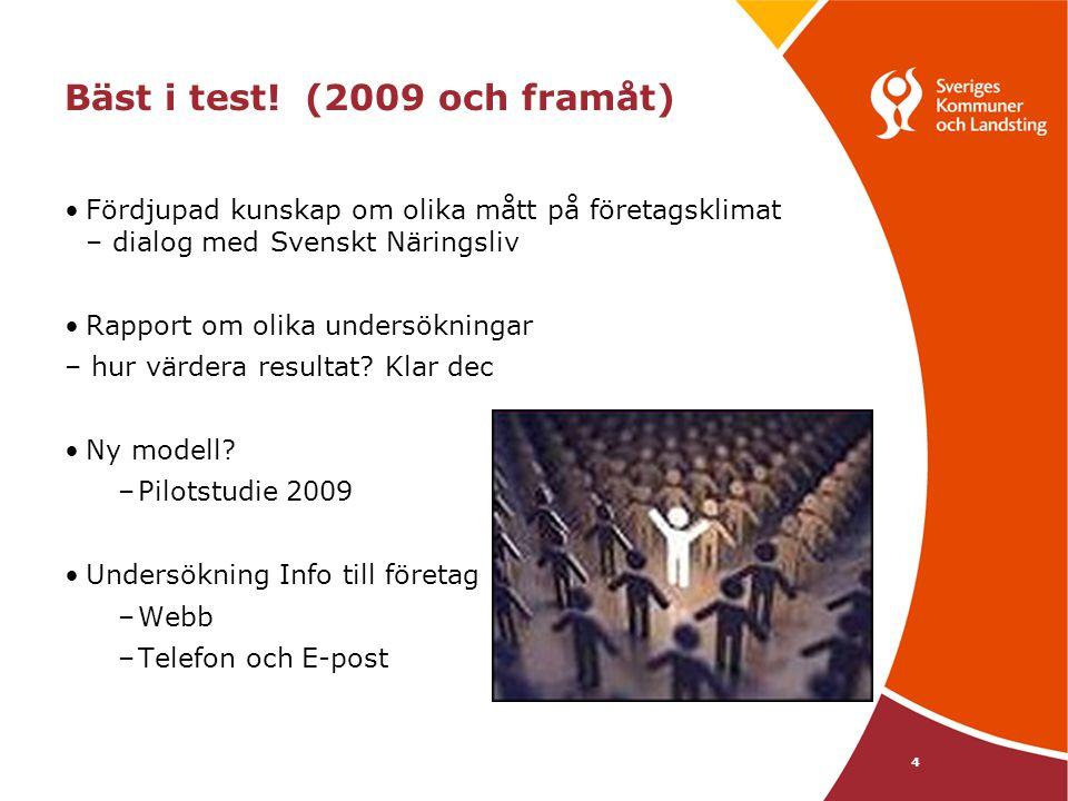 Bäst i test! (2009 och framåt)