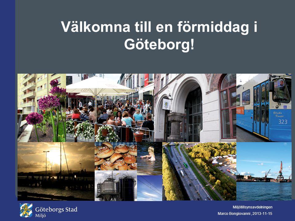Välkomna till en förmiddag i Göteborg!