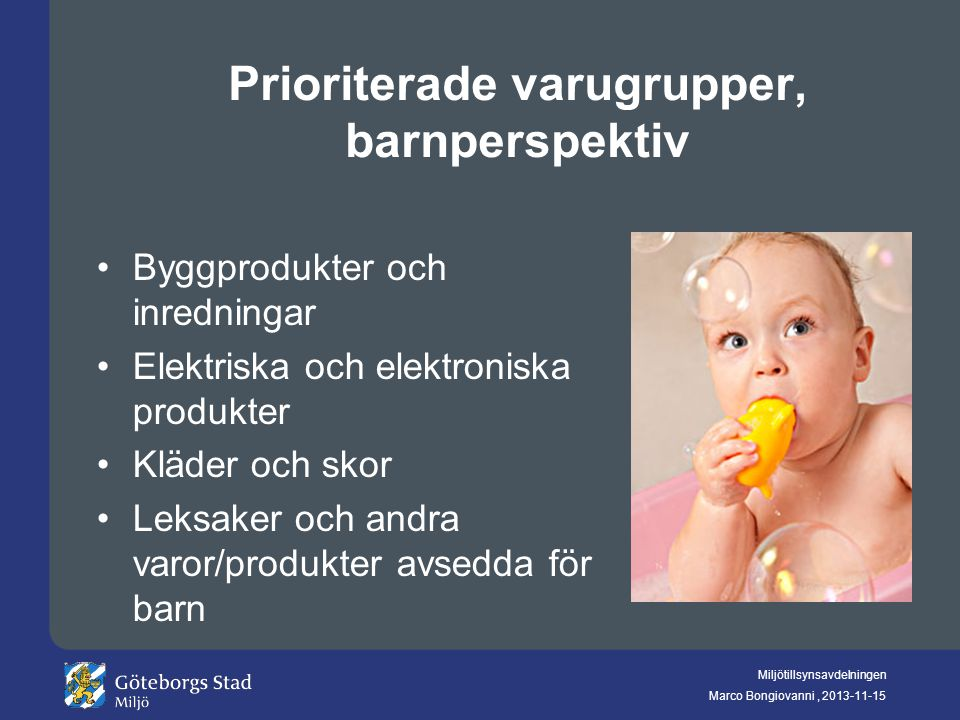 Prioriterade varugrupper, barnperspektiv