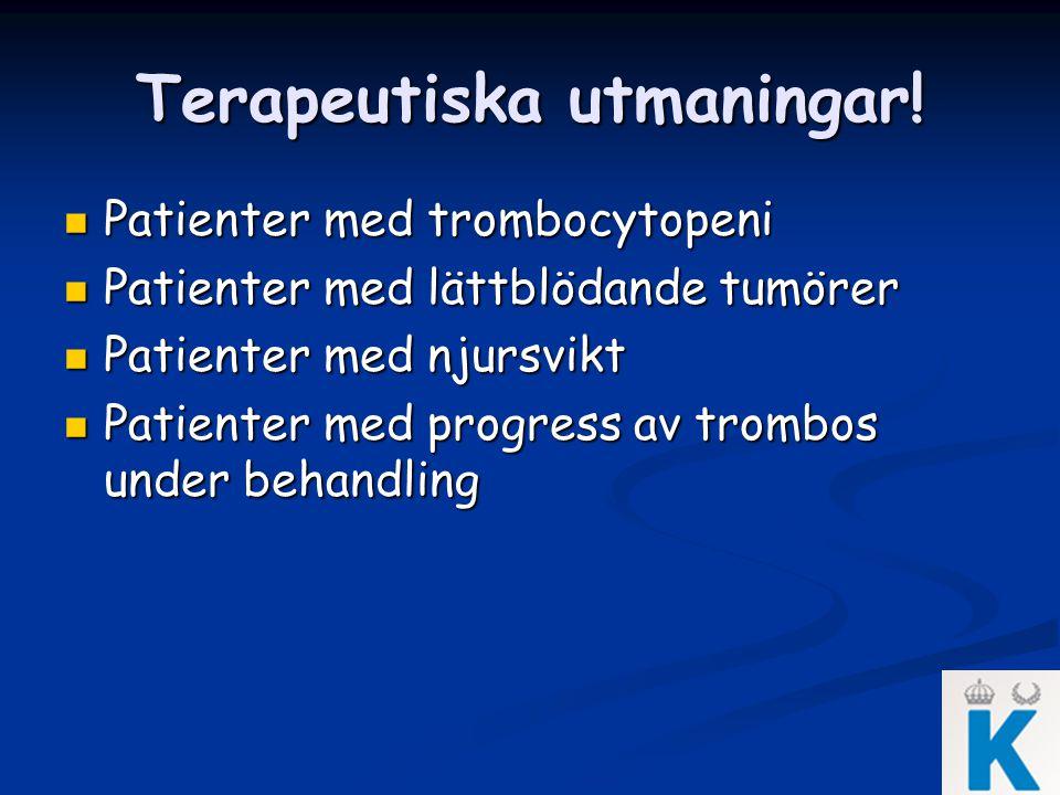 Terapeutiska utmaningar!