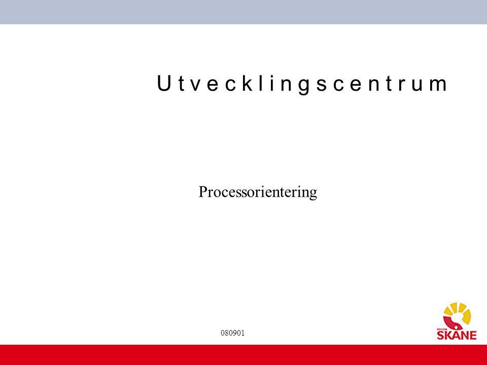 Processorientering 080901