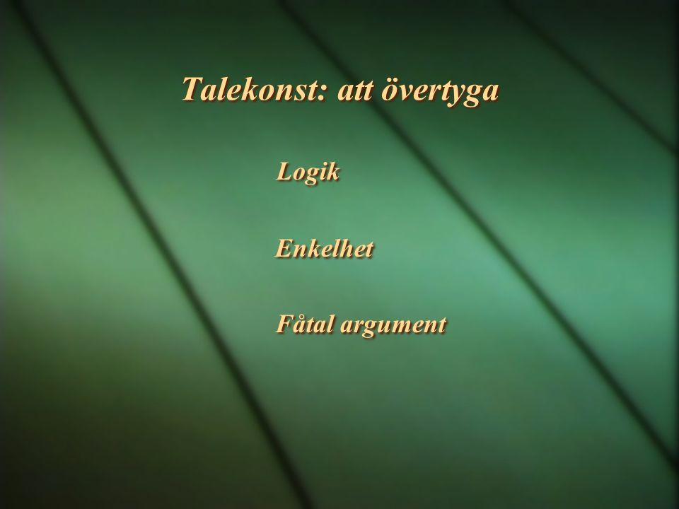 Talekonst: att övertyga
