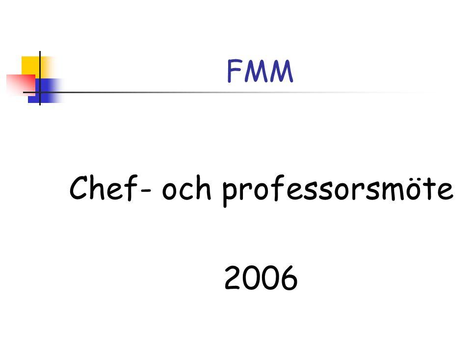 Chef- och professorsmöte 2006