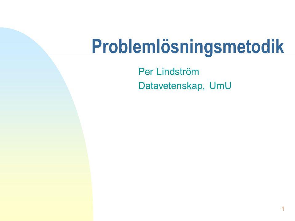 Problemlösningsmetodik