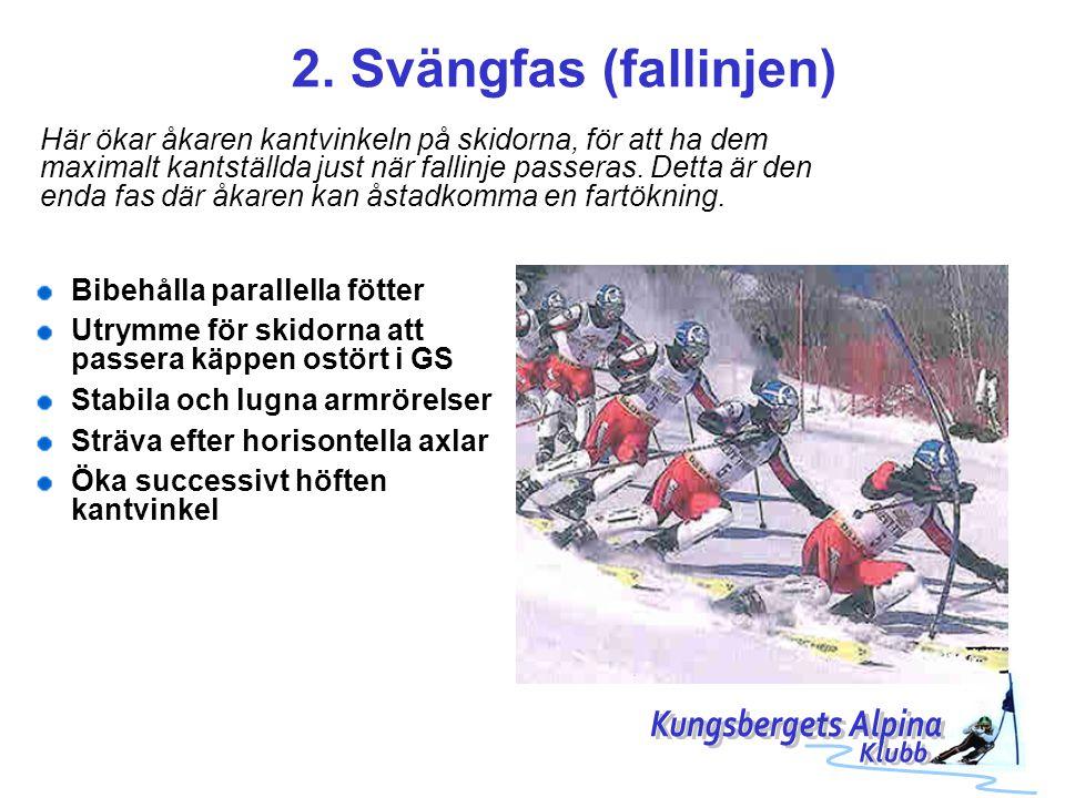 2. Svängfas (fallinjen) Kungsbergets Alpina Klubb