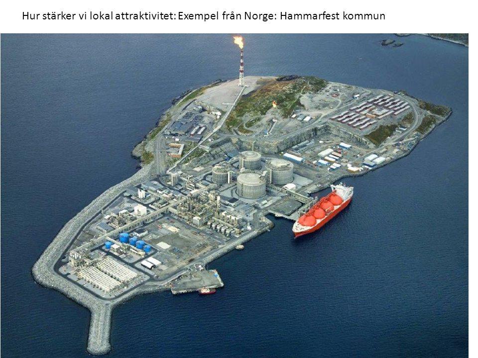 Hur stärker vi lokal attraktivitet: Exempel från Norge: Hammarfest kommun