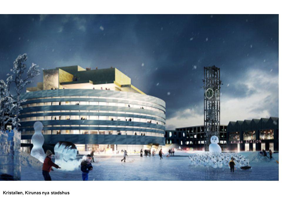 Kristallen, Kirunas nya stadshus