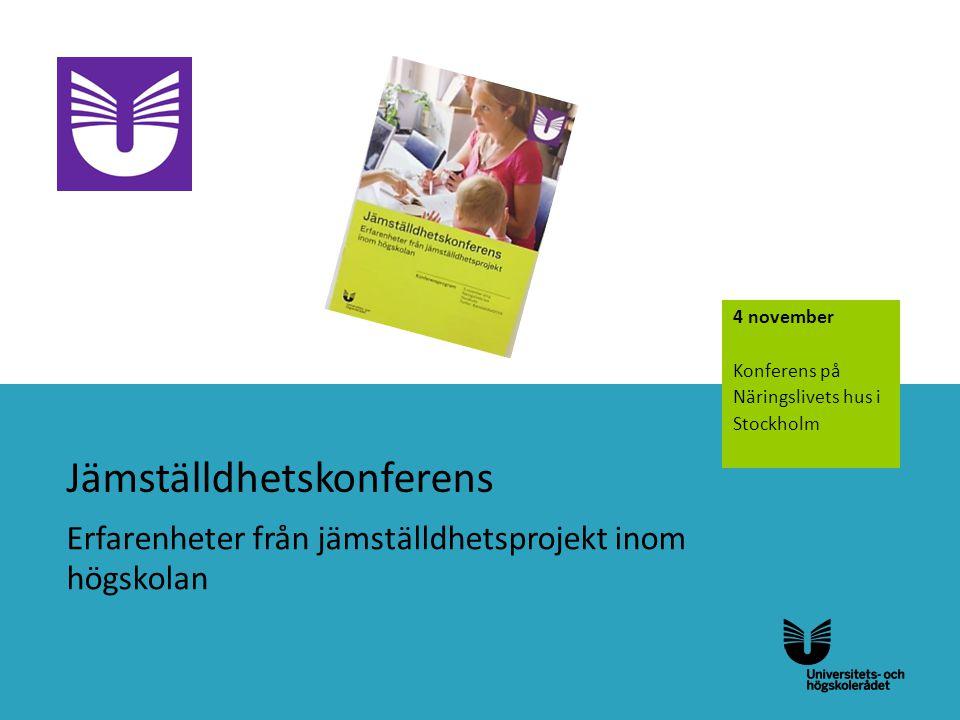 Jämställdhetskonferens