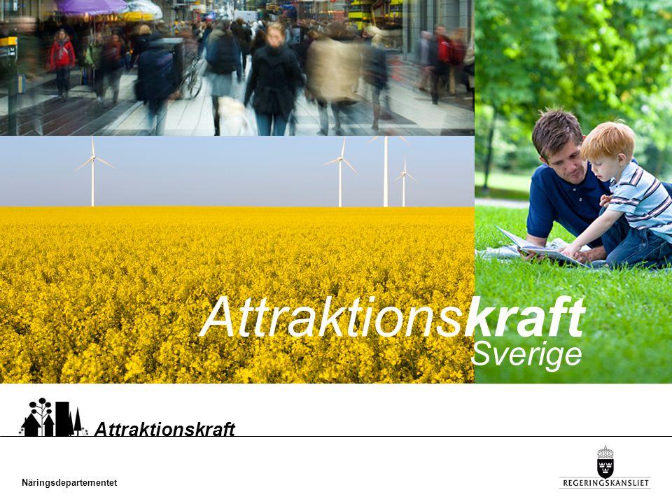 Attraktionskraft Sverige Attraktionskraft