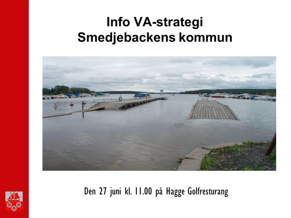 Info VA-strategi Smedjebackens kommun
