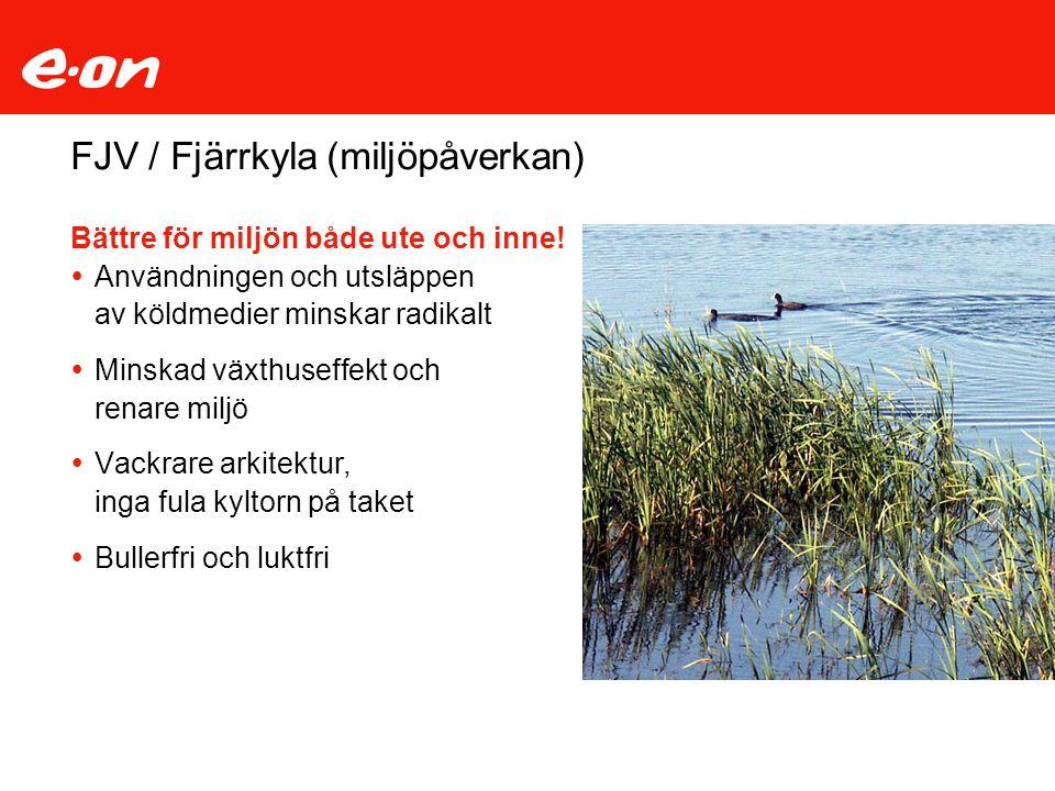 FJV / Fjärrkyla (miljöpåverkan)