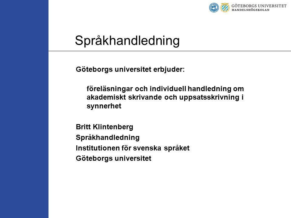Språkhandledning