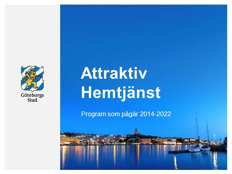 Attraktiv Hemtjänst Program som pågår 2014-2022