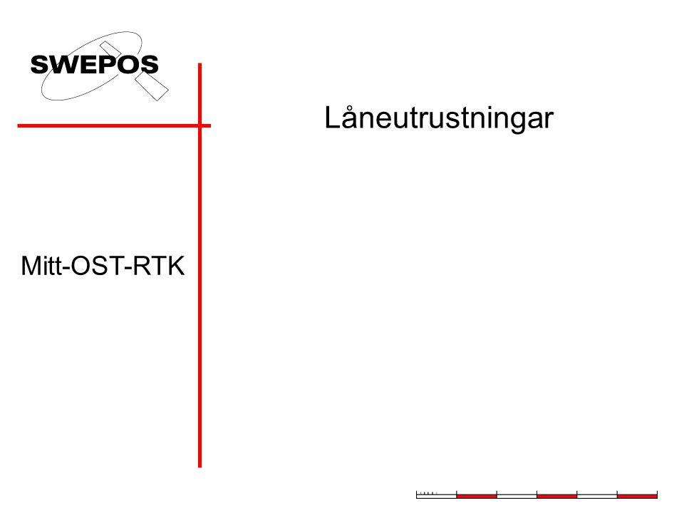 Låneutrustningar Mitt-OST-RTK
