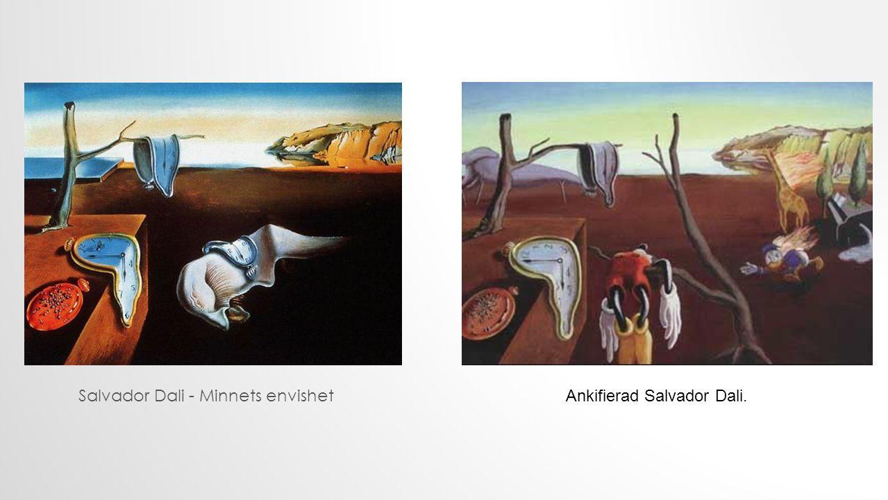 Salvador Dali - Minnets envishet