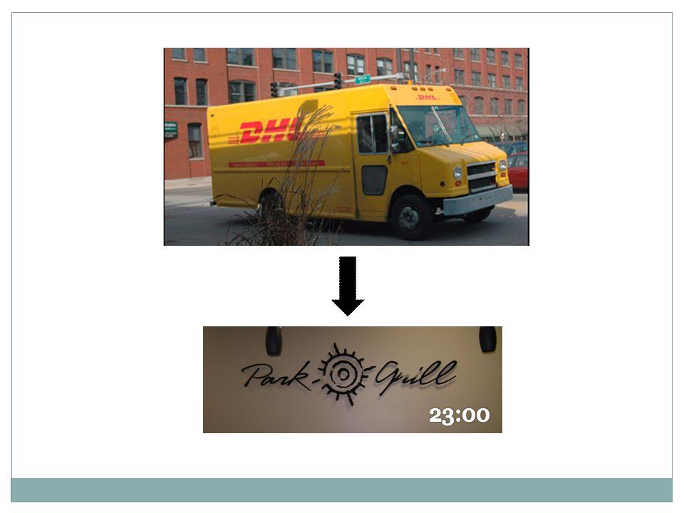 Pekkala: Paketet fraktas med paketbil från flygfältet till Restaurangen och är där 23:00 finsk tid (16:00 lokal tid)