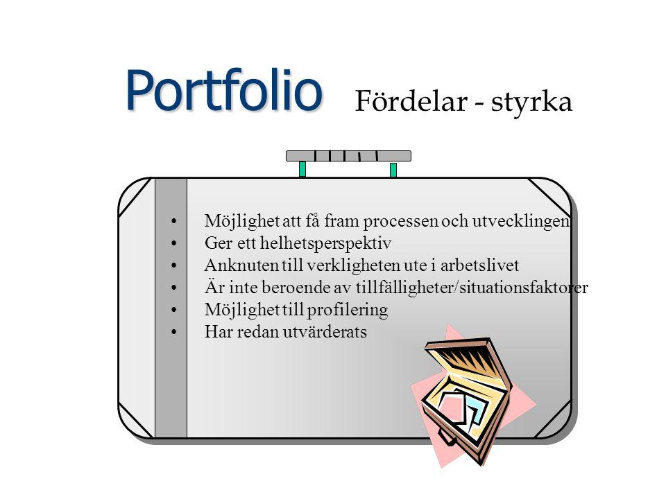 Portfolio Fördelar - styrka