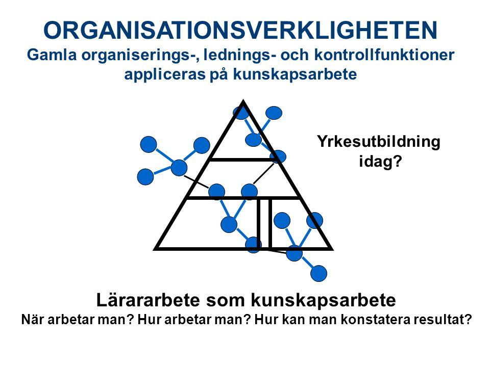 ORGANISATIONSVERKLIGHETEN
