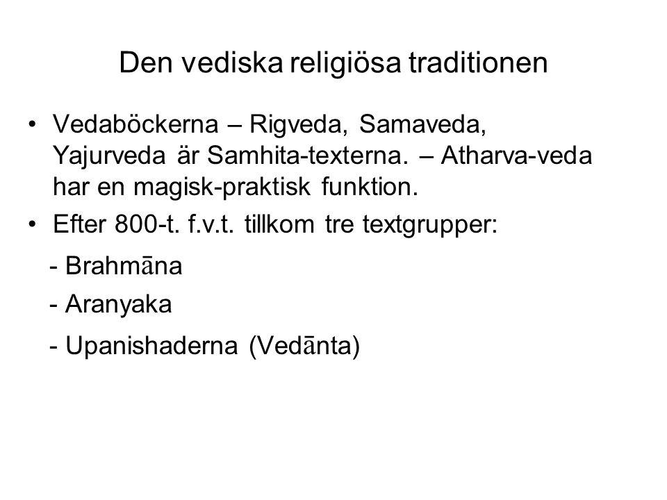 Den vediska religiösa traditionen