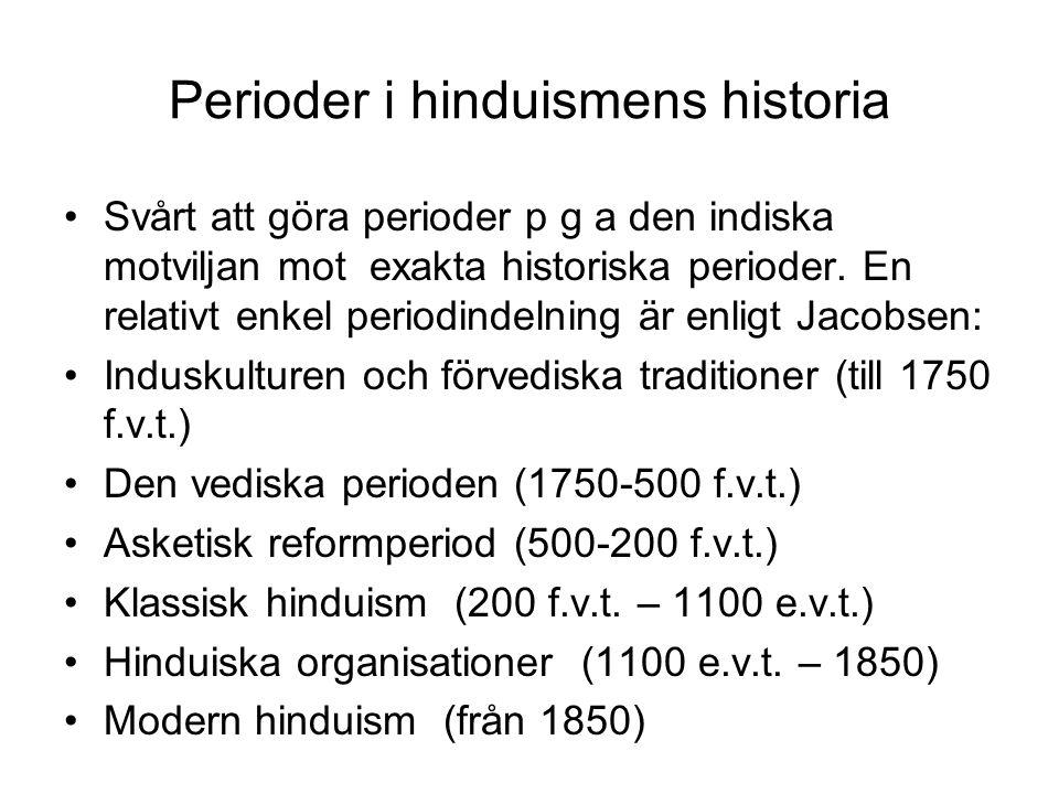 Perioder i hinduismens historia