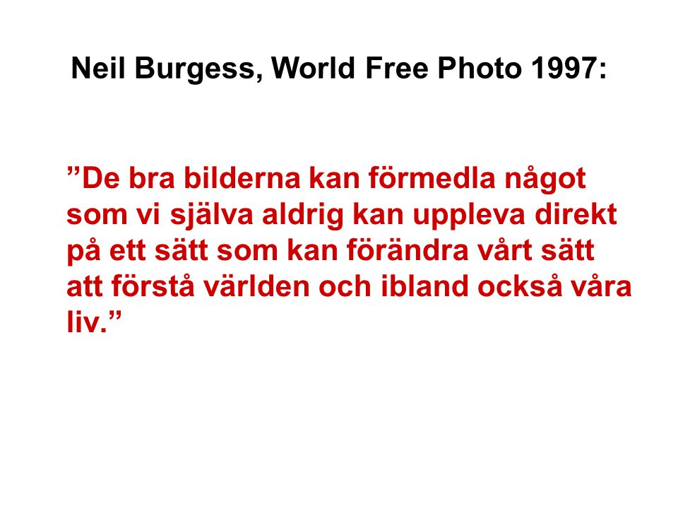 Neil Burgess, World Free Photo 1997: