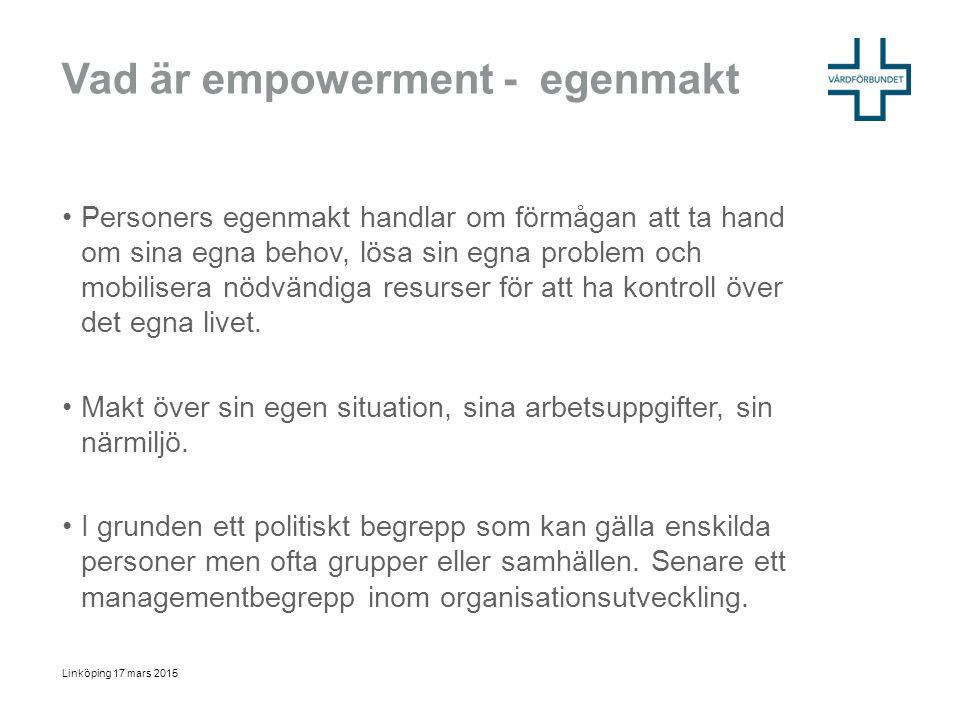 Vad är empowerment - egenmakt