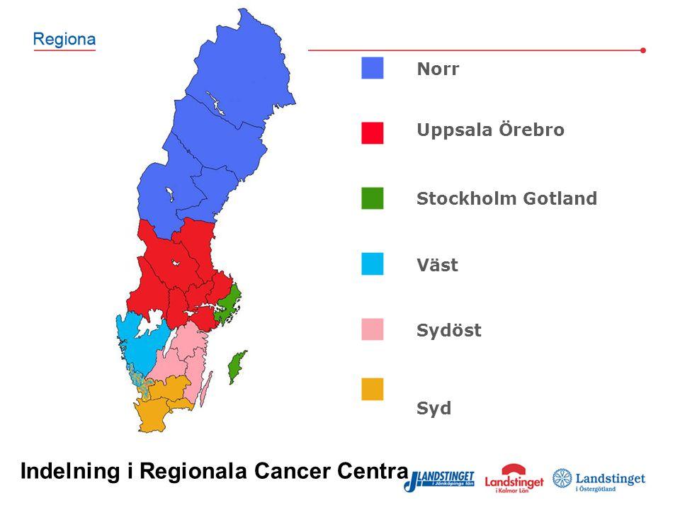 Indelning i Regionala Cancer Centra