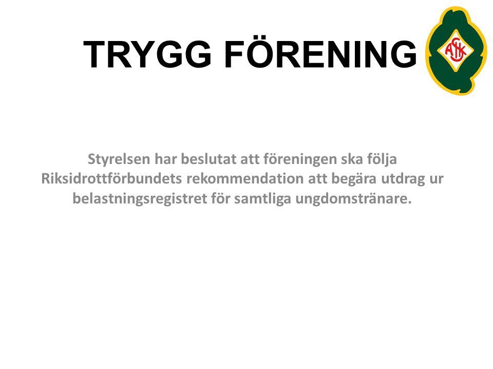 TRYGG FÖRENING