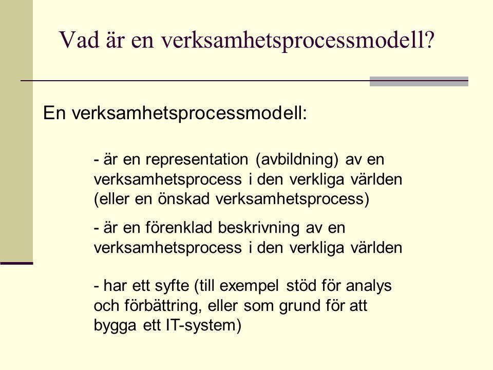Vad är en verksamhetsprocessmodell