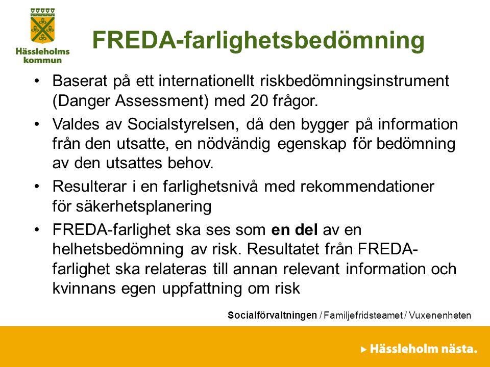 FREDA-farlighetsbedömning