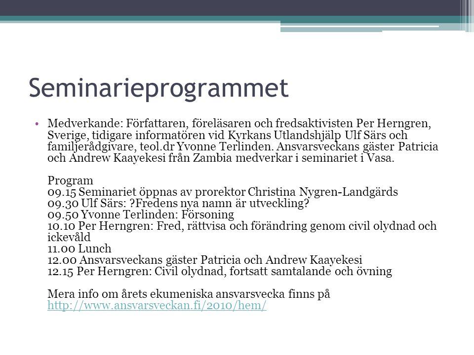 Seminarieprogrammet
