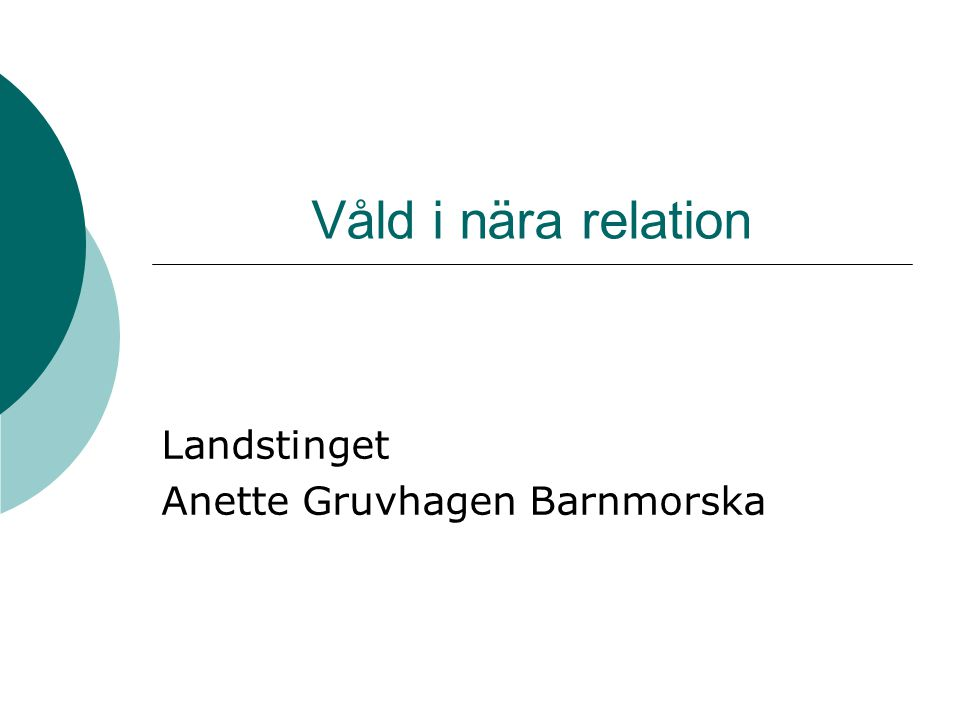 Landstinget Anette Gruvhagen Barnmorska