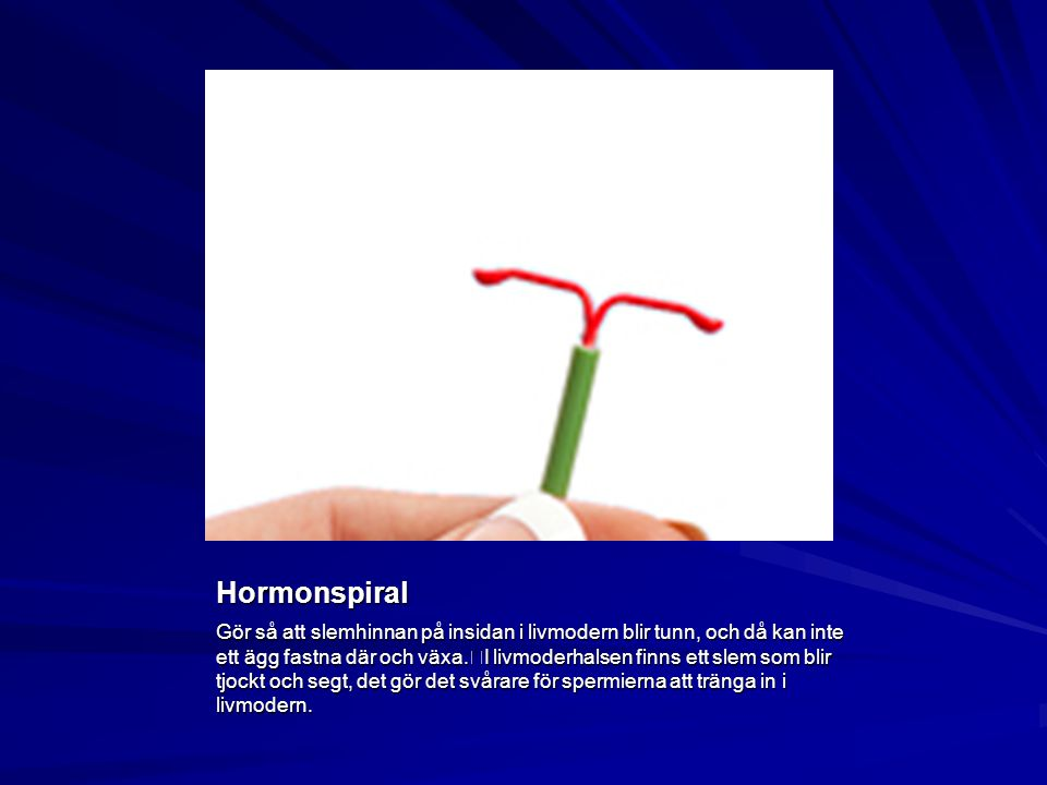 Hormonspiral