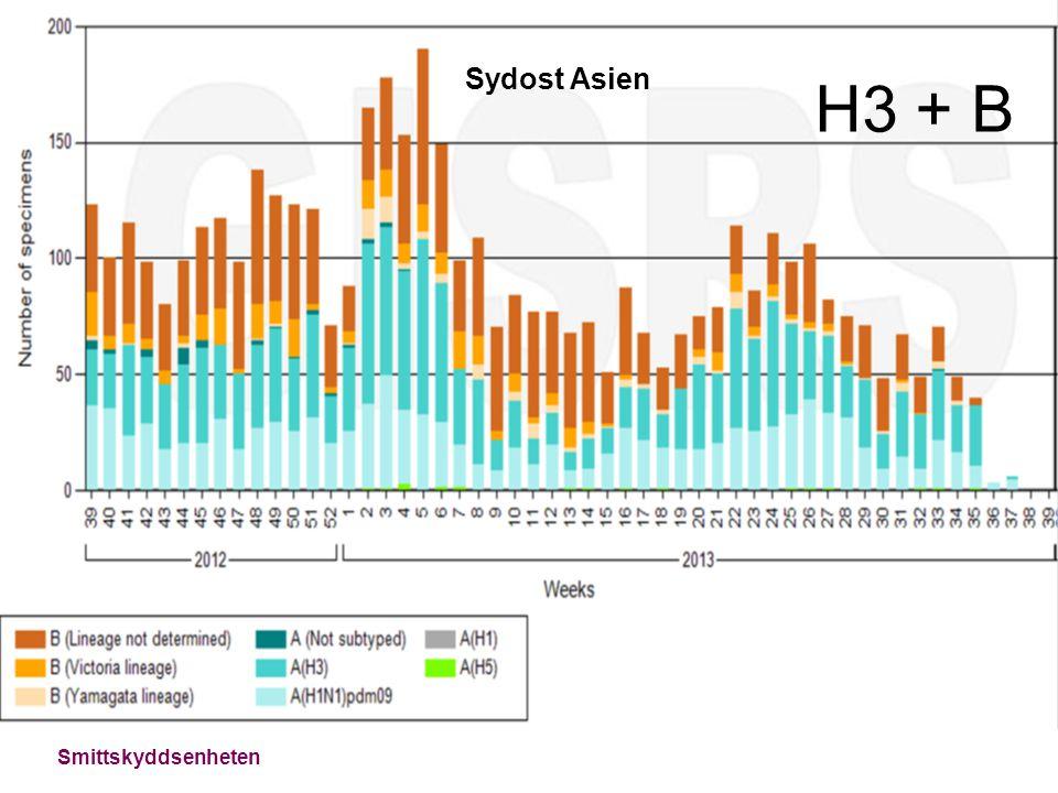 Sydost Asien H3 + B