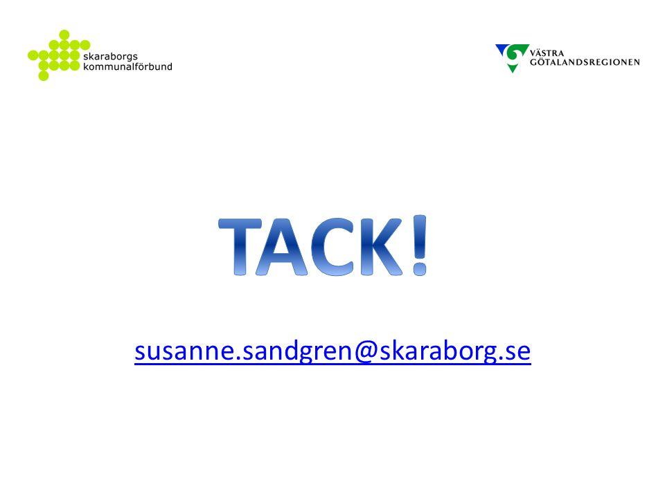 susanne.sandgren@skaraborg.se TACK!