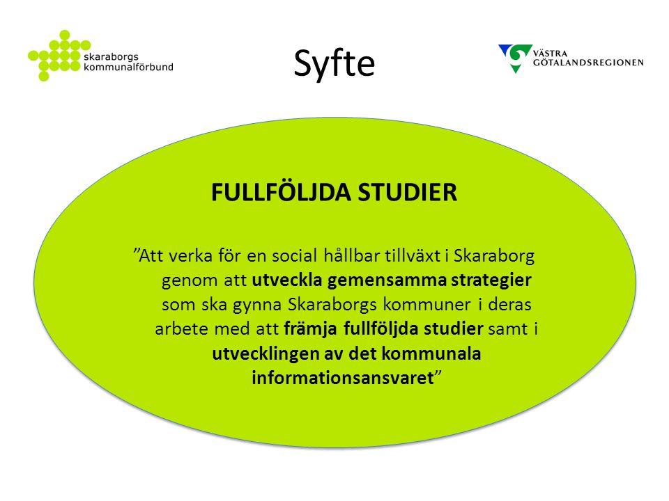 Syfte FULLFÖLJDA STUDIER