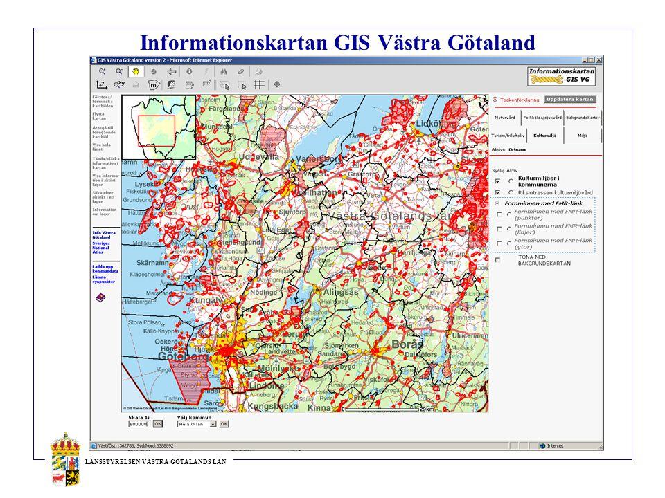 Informationskartan GIS Västra Götaland