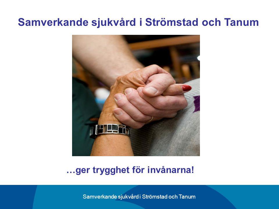 Samverkande sjukvård i Strömstad och Tanum